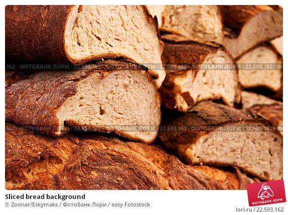 Купить «Sliced bread background», фото № 22593162, снято 15 февраля 2019 г. (c) easy Fotostock / Фотобанк Лори
