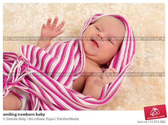 Купить «smiling newborn baby», фото № 11511562, снято 23 апреля 2019 г. (c) PantherMedia / Фотобанк Лори