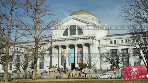 Smithsonian National Museum of Natural History in Washington DC (2017 год). Редакционное видео, видеограф Igor Vorobyov / Фотобанк Лори