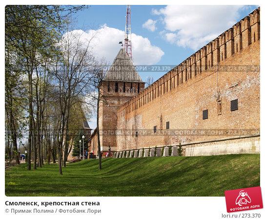 Купить «Смоленск, крепостная стена», фото № 273370, снято 26 апреля 2008 г. (c) Примак Полина / Фотобанк Лори