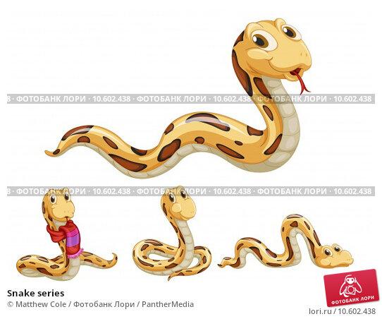 Snake series. Стоковая иллюстрация, иллюстратор Matthew Cole / PantherMedia / Фотобанк Лори