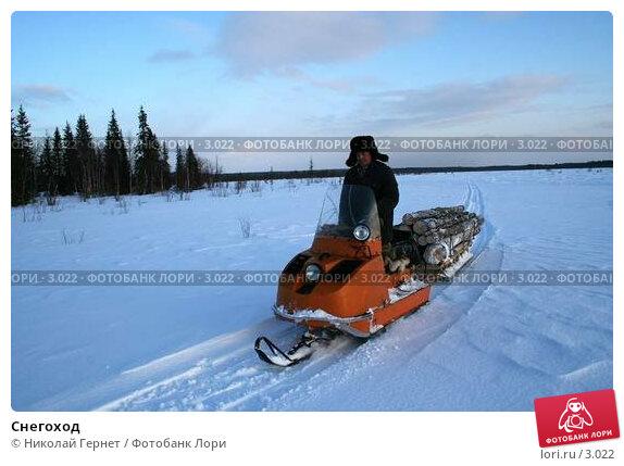 Снегоход, фото № 3022, снято 28 марта 2006 г. (c) Николай Гернет / Фотобанк Лори