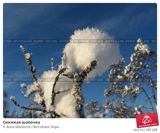 Снежная шапочка, фото № 187258, снято 27 января 2008 г. (c) Anna Marklund / Фотобанк Лори