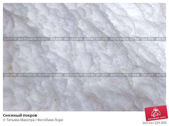 Снежный покров, фото № 231870, снято 17 марта 2006 г. (c) Татьяна Макотра / Фотобанк Лори