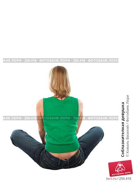 Купить «Соблазнителная девушка», фото № 250418, снято 9 октября 2007 г. (c) Коваль Василий / Фотобанк Лори