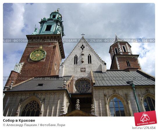 Собор в Кракове, фото № 276654, снято 21 августа 2006 г. (c) Александр Пашкин / Фотобанк Лори