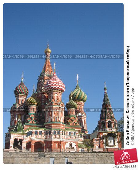 Собор Василия Блаженного (Покровский собор), фото № 294858, снято 27 апреля 2008 г. (c) ИВА Афонская / Фотобанк Лори