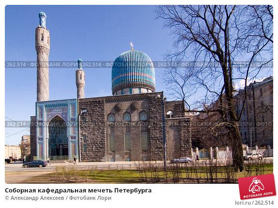 Соборная кафедральная мечеть Петербурга, эксклюзивное фото № 262514, снято 24 апреля 2008 г. (c) Александр Алексеев / Фотобанк Лори