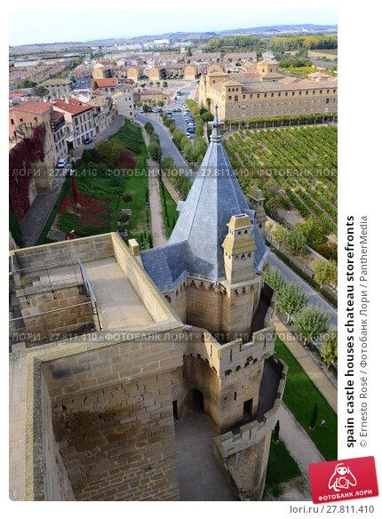 Купить «spain castle houses chateau storefronts», фото № 27811410, снято 26 февраля 2018 г. (c) PantherMedia / Фотобанк Лори