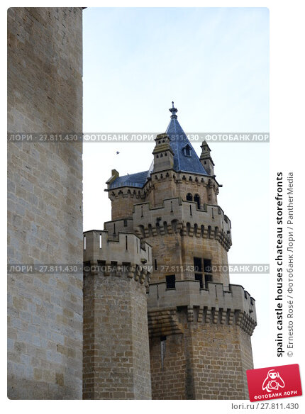 Купить «spain castle houses chateau storefronts», фото № 27811430, снято 26 февраля 2018 г. (c) PantherMedia / Фотобанк Лори