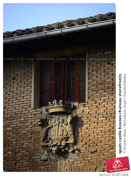 Купить «spain castle houses chateau storefronts», фото № 27811434, снято 22 февраля 2018 г. (c) PantherMedia / Фотобанк Лори