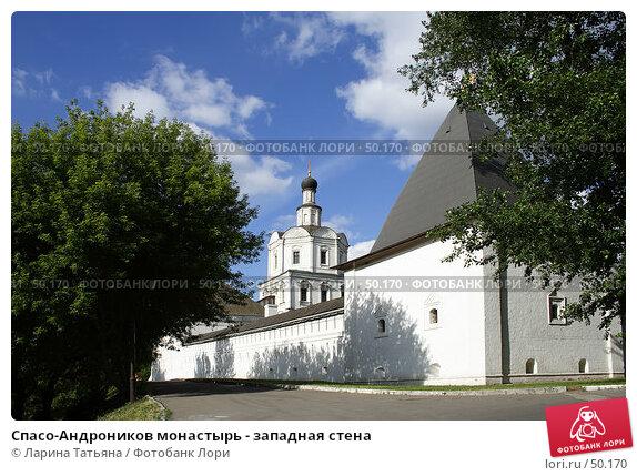 Спасо-Андроников монастырь - западная стена, фото № 50170, снято 5 июня 2007 г. (c) Ларина Татьяна / Фотобанк Лори