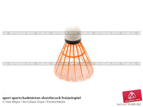 sport sports badminton shuttlecock freizeitspiel. Стоковое фото, фотограф Uwe Mayer / PantherMedia / Фотобанк Лори
