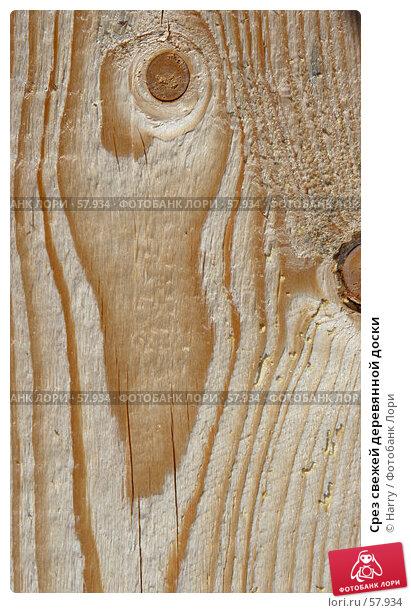 Срез свежей деревянной доски, фото № 57934, снято 7 июня 2005 г. (c) Harry / Фотобанк Лори