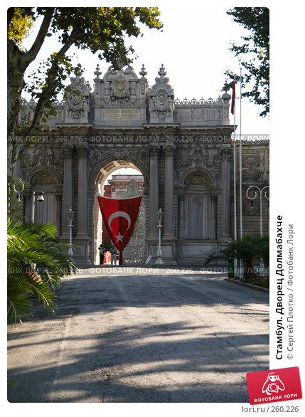 Стамбул. Дворец Долмабахче, фото № 260226, снято 30 августа 2007 г. (c) Сергей Плотко / Фотобанк Лори