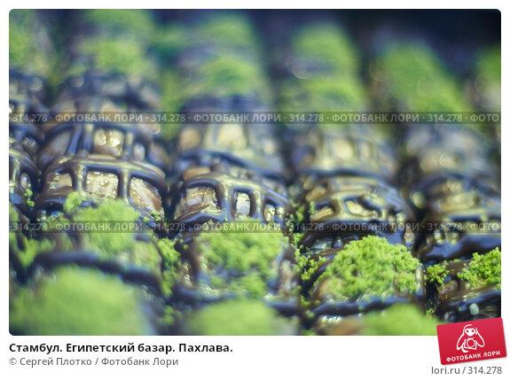 Стамбул. Египетский базар. Пахлава., фото № 314278, снято 29 августа 2007 г. (c) Сергей Плотко / Фотобанк Лори
