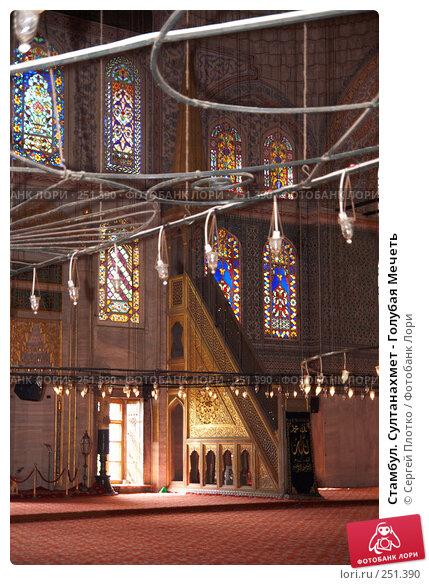 Стамбул. Султанахмет - Голубая Мечеть, фото № 251390, снято 31 августа 2007 г. (c) Сергей Плотко / Фотобанк Лори