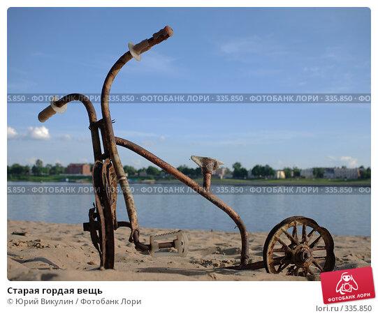 Старая гордая вещь, фото № 335850, снято 20 июня 2008 г. (c) Юрий Викулин / Фотобанк Лори
