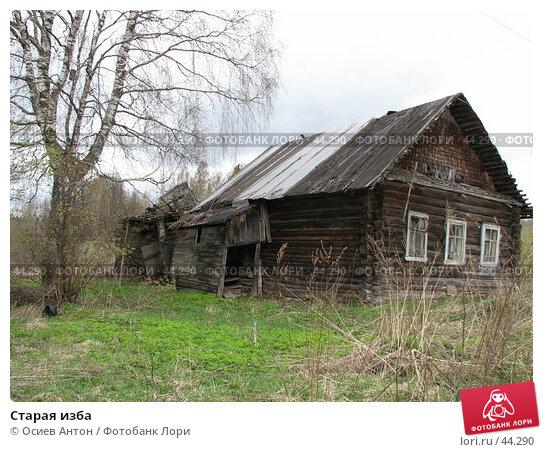 Старая изба, фото № 44290, снято 8 мая 2007 г. (c) Осиев Антон / Фотобанк Лори
