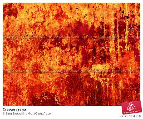 Старая стена, фото № 134750, снято 11 марта 2006 г. (c) Serg Zastavkin / Фотобанк Лори