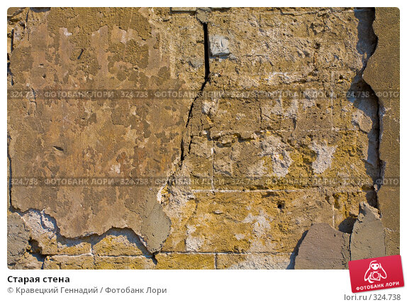 Старая стена, фото № 324738, снято 1 мая 2006 г. (c) Кравецкий Геннадий / Фотобанк Лори