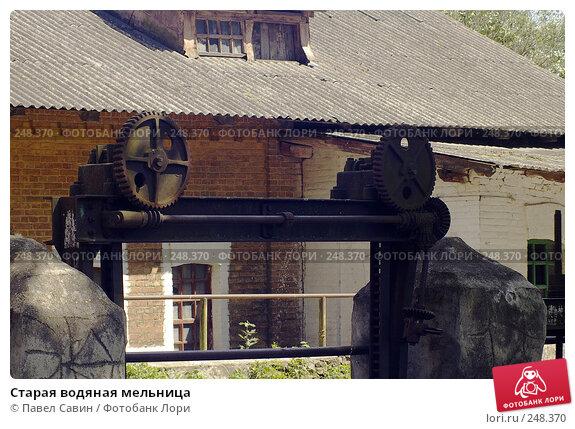 Купить «Старая водяная мельница», фото № 248370, снято 15 июля 2007 г. (c) Павел Савин / Фотобанк Лори