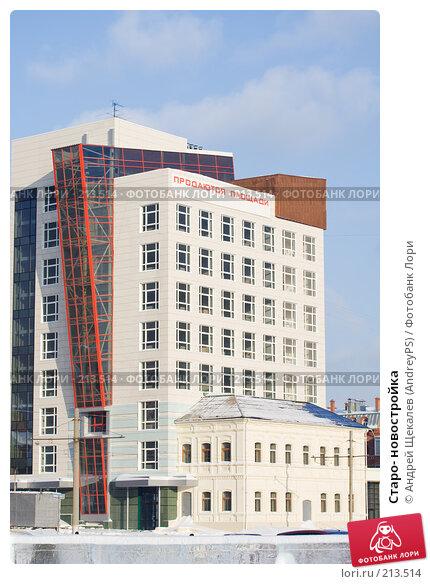 Старо- новостройка, фото № 213514, снято 19 января 2008 г. (c) Андрей Щекалев (AndreyPS) / Фотобанк Лори