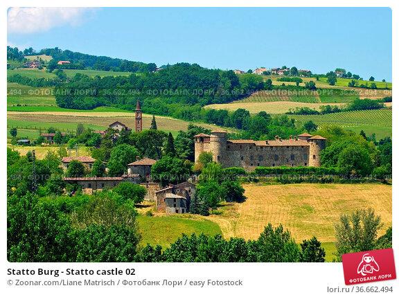 Statto Burg - Statto castle 02. Стоковое фото, фотограф Zoonar.com/Liane Matrisch / easy Fotostock / Фотобанк Лори
