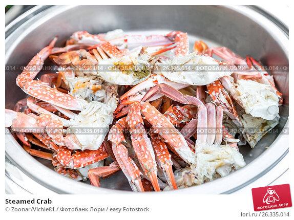 Купить «Steamed Crab», фото № 26335014, снято 20 марта 2018 г. (c) easy Fotostock / Фотобанк Лори