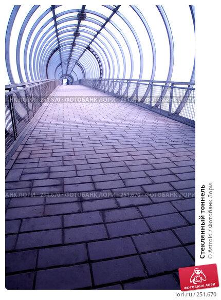 Купить «Стеклянный тоннель», фото № 251670, снято 5 апреля 2008 г. (c) Astroid / Фотобанк Лори