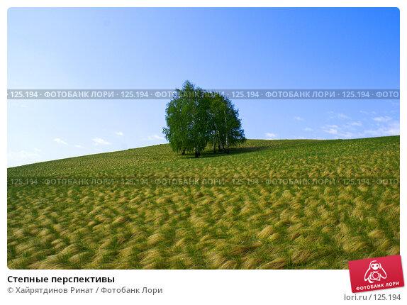 Степные перспективы, фото № 125194, снято 20 мая 2007 г. (c) Хайрятдинов Ринат / Фотобанк Лори