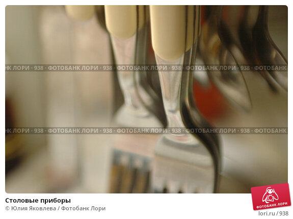 Столовые приборы, фото № 938, снято 21 февраля 2006 г. (c) Юлия Яковлева / Фотобанк Лори