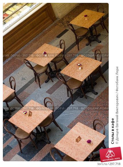 Купить «Столы в кафе», фото № 297718, снято 24 января 2008 г. (c) Донцов Евгений Викторович / Фотобанк Лори