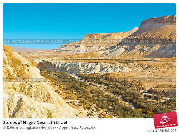 Stones of Negev Desert in Israel. Стоковое фото, фотограф Zoonar.com/gkuna / easy Fotostock / Фотобанк Лори