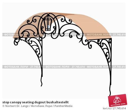 Купить «stop canopy seating dugout bushaltestellt», фото № 27745614, снято 26 апреля 2019 г. (c) PantherMedia / Фотобанк Лори