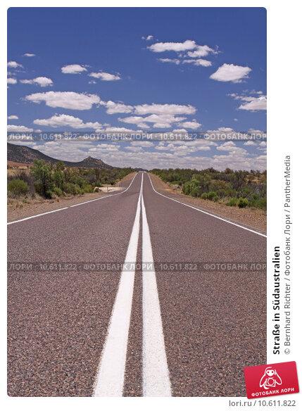 Straße in Südaustralien. Стоковое фото, фотограф Bernhard Richter / PantherMedia / Фотобанк Лори