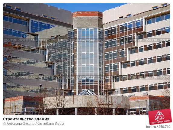 Строительство здания, эксклюзивное фото № 250710, снято 3 апреля 2008 г. (c) Алёшина Оксана / Фотобанк Лори