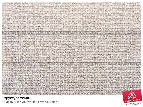 Структура ткани, фото № 300002, снято 26 апреля 2008 г. (c) Мельников Дмитрий / Фотобанк Лори