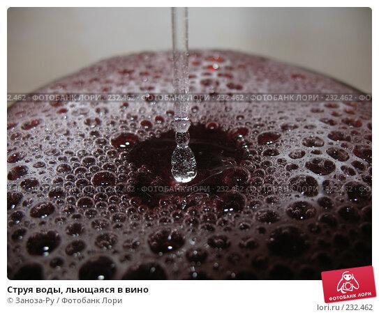 Купить «Струя воды, льющаяся в вино», фото № 232462, снято 22 марта 2008 г. (c) Заноза-Ру / Фотобанк Лори