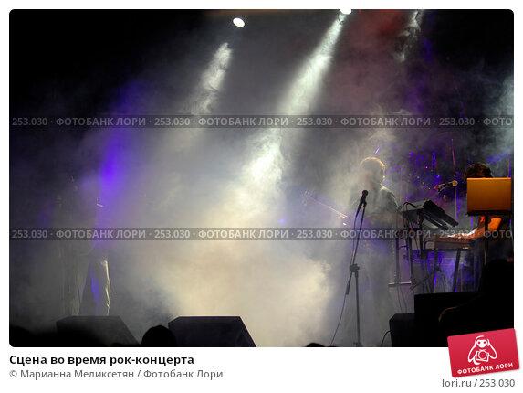 Сцена во время рок-концерта, фото № 253030, снято 8 июня 2007 г. (c) Марианна Меликсетян / Фотобанк Лори