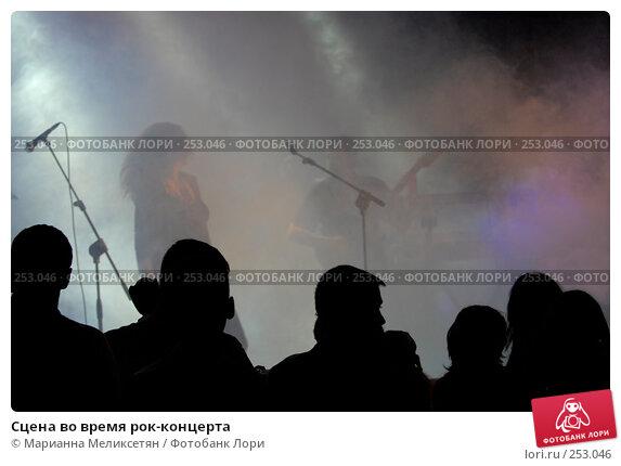 Сцена во время рок-концерта, фото № 253046, снято 8 июня 2007 г. (c) Марианна Меликсетян / Фотобанк Лори