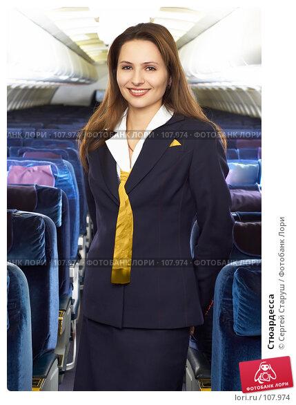 Стюардесса, фото № 107974, снято 8 февраля 2007 г. (c) Сергей Старуш / Фотобанк Лори