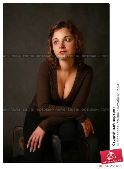 Студийный портрет, фото № 238618, снято 4 февраля 2008 г. (c) Морозова Татьяна / Фотобанк Лори