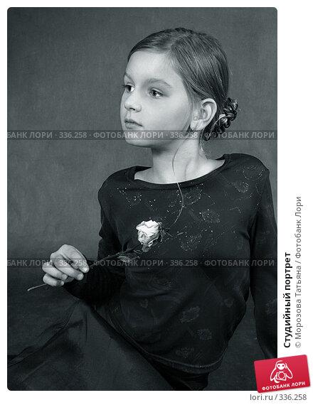 Студийный портрет, фото № 336258, снято 13 октября 2004 г. (c) Морозова Татьяна / Фотобанк Лори