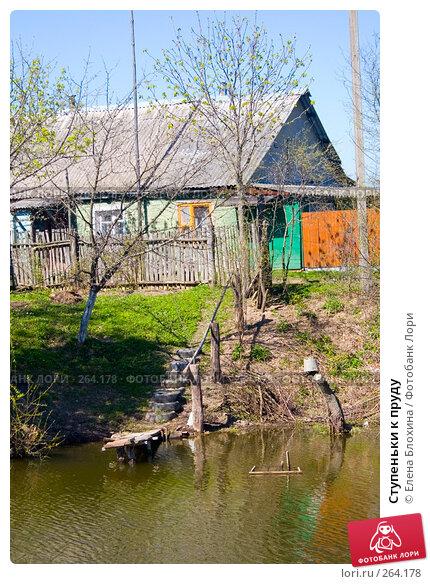 Ступеньки к пруду, фото № 264178, снято 25 апреля 2008 г. (c) Елена Блохина / Фотобанк Лори