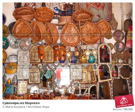 Сувениры из Марокко, фото № 188006, снято 25 ноября 2007 г. (c) Maria Kuryleva / Фотобанк Лори