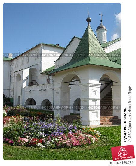 Суздаль, Кремль, фото № 159234, снято 19 августа 2006 г. (c) ИВА Афонская / Фотобанк Лори