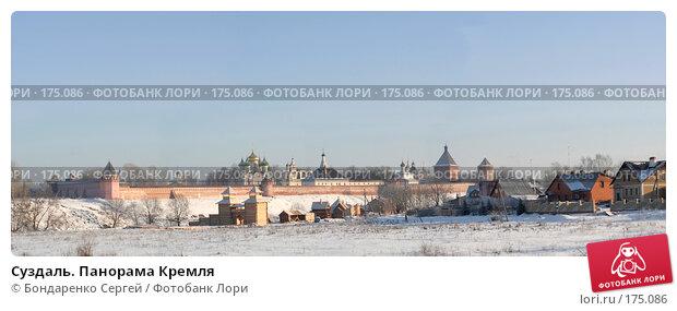 Суздаль. Панорама Кремля, фото № 175086, снято 6 января 2008 г. (c) Бондаренко Сергей / Фотобанк Лори