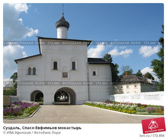 Купить «Суздаль, Спасо-Евфимьев монастырь», фото № 173494, снято 18 августа 2006 г. (c) ИВА Афонская / Фотобанк Лори