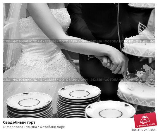 Свадебный торт, фото № 242386, снято 21 апреля 2007 г. (c) Морозова Татьяна / Фотобанк Лори